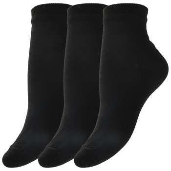 جوراب زنانه مدل SO804 دانشجویی بسته 3 عددی