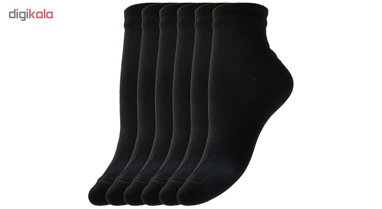 جوراب زنانه مدل SO804 دانشجویی  بسته 6 عددی main 1 3