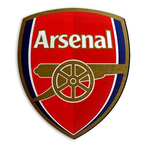 استیکر چوبی دکوماس طرح آرسنال کد Arsenal DMS-WS106