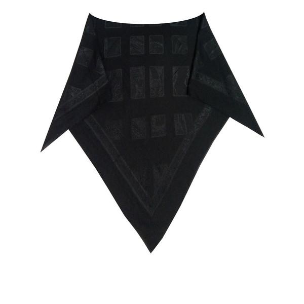 روسری زنانه توتو طرح گل برجسته مدل 04