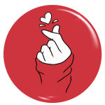 پیکسل طرح دست و قلب کد 031 thumb