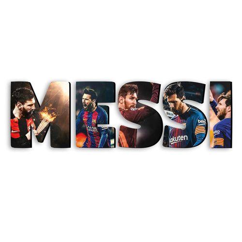 استیکر چوبی دکوماس طرح لیونل مسی کد Messi DMS-WS114