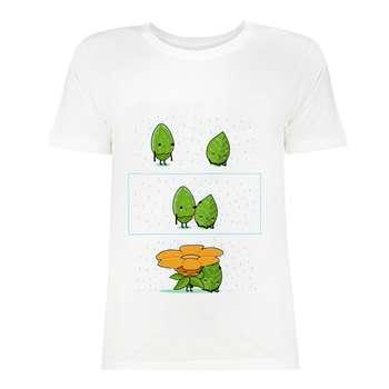 تی شرت آستین کوتاه زنانه مدل SK99Wiwa-013