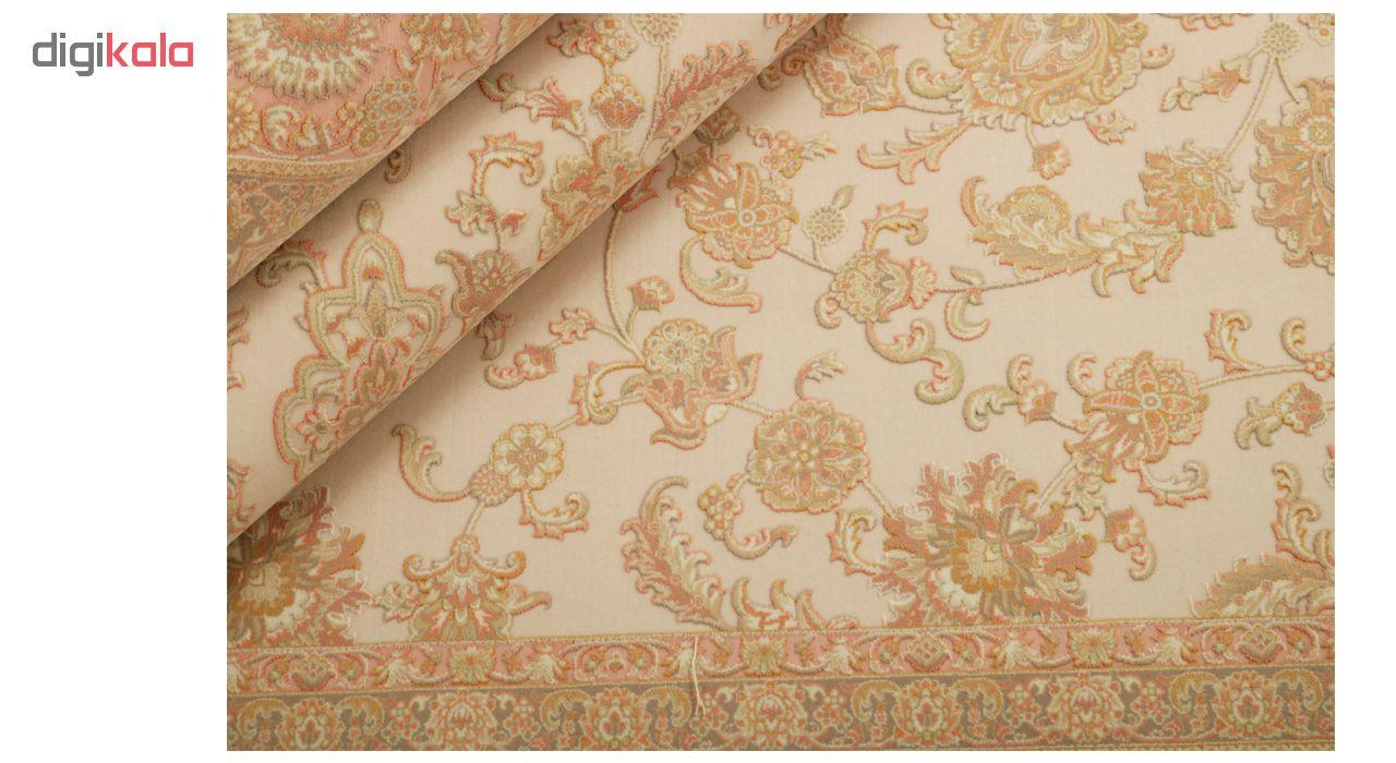 فرش ماشینی آوات مدل beige-28003 کد 90010