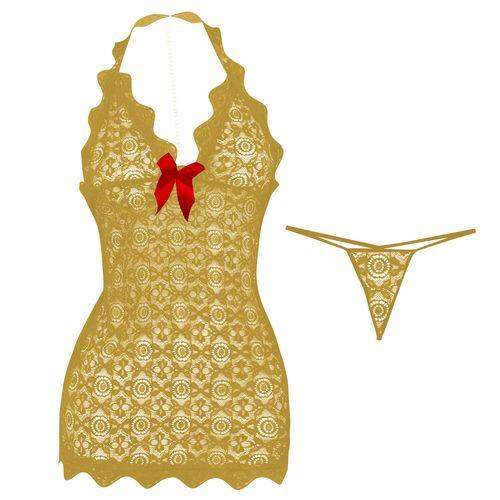 لباس خواب زنانه مدل Gold-Pearl