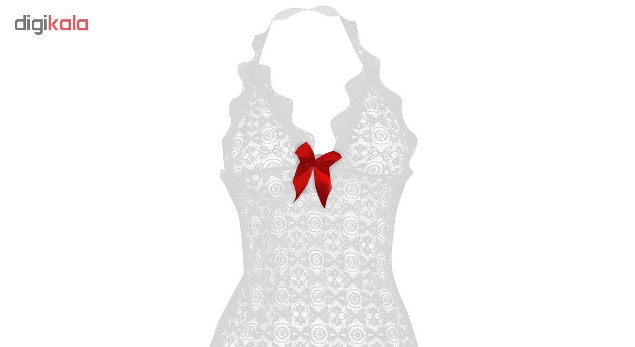 لباس خواب زنانه مدل White-Pearl main 1 3
