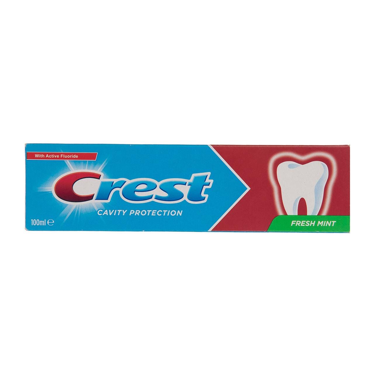 قیمت خمیر دندان کرست سری Protection مدل Fresh Mint حجم 100 میلی لیتر
