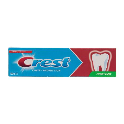 خمیر دندان کرست سری Protection مدل Fresh Mint حجم 100 میلی لیتر