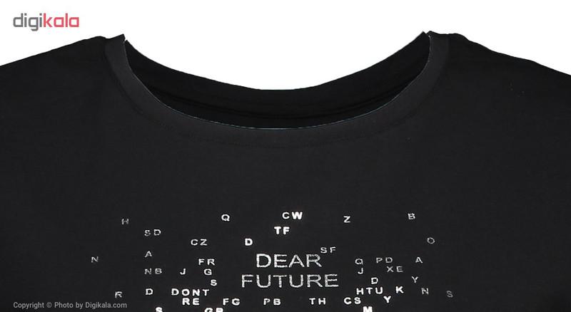 تی شرت زنانه بیلسی مدل TB17WF07W2842-1-SIYAH