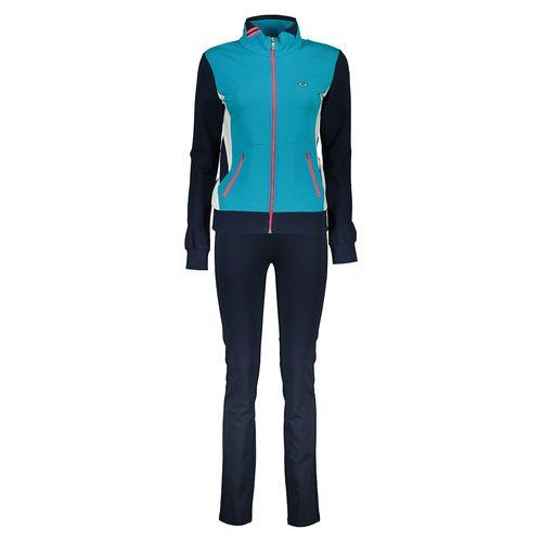 ست گرمکن ورزشی زنانه بیلسی مدل 16SS0206-2IP-NAVY-TROPIKAL