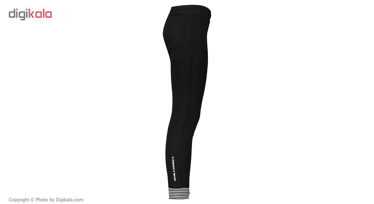ست گرمکن ورزشی زنانه بیلسی مدل TQ18WA01S6001-1-SIYAH