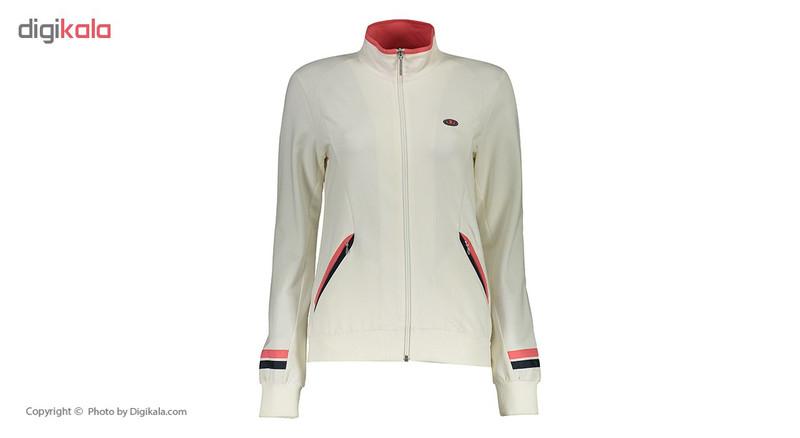 ست گرمکن ورزشی زنانه بیلسی مدل 15Y7033-2IP-NAVY-FILDISI