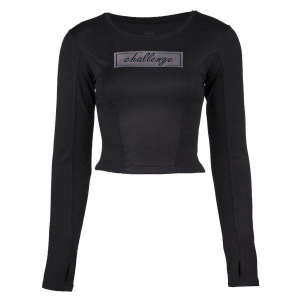 تی شرت ورزشی زنانه بیلسی مدل 51W8527-POL-SIYAH