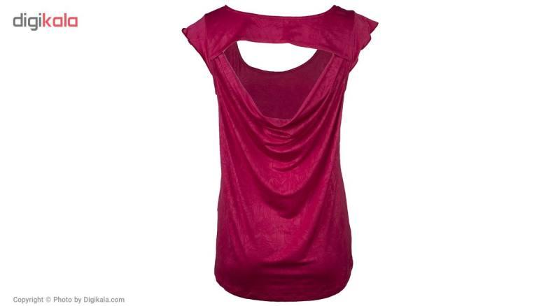 تی شرت زنانه بیلسی مدل 15Y7220-POL-L.VIOLA