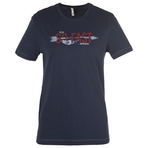 تی شرت  مردانه بیلسی مدل TQ18ME07S5504-1-NAVY