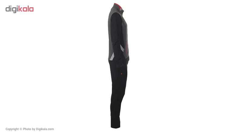 ست سویشرت و شلوار ورزشی مردانه بیلسی مدل 16SS-0010-2I-SIYAH-ANTRASIT
