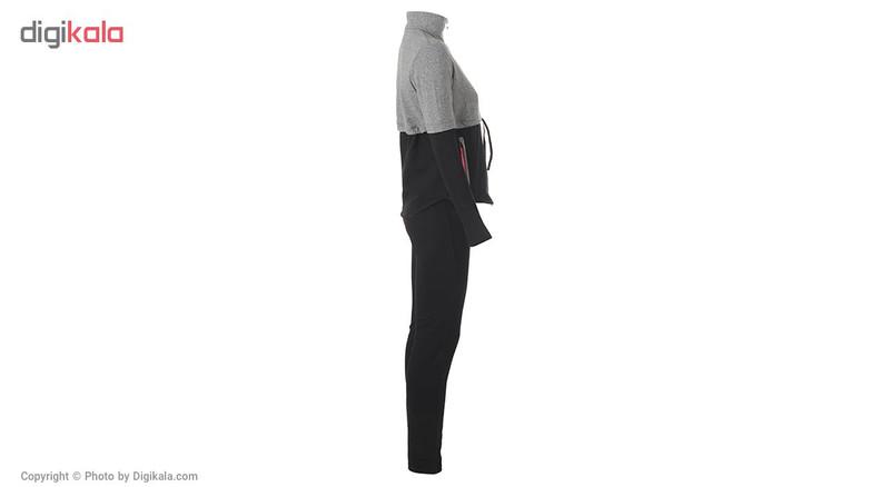 ست سویشرت و شلوار ورزشی زنانه بیلسی مدل TB17WA01W8315-1-SIYAH