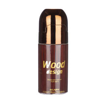 رول ضد تعریق مردانه اسکلاره مدل Wood Design حجم 60 میلی لیتر