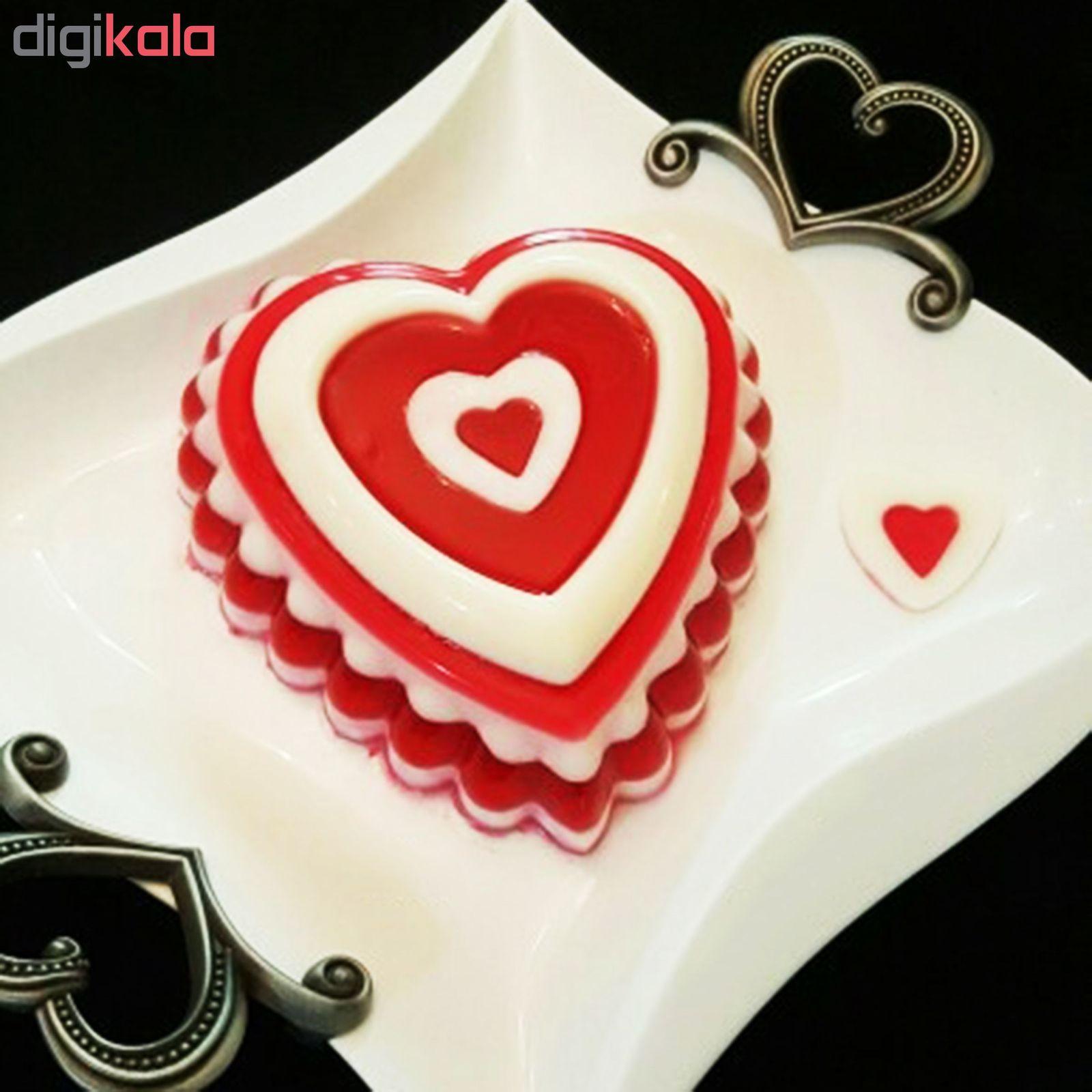 قالب ژله طرح قلب کد 001 main 1 9
