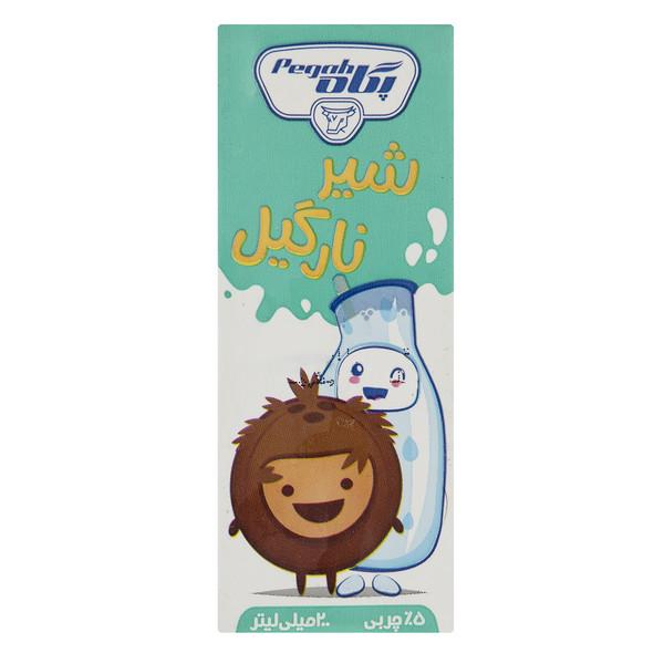 شیر نارگیل پگاه مقدار 0.2 لیتر