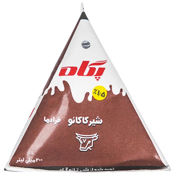 شیر کاکائو فرادما پگاه مقدار 0.2 لیتر