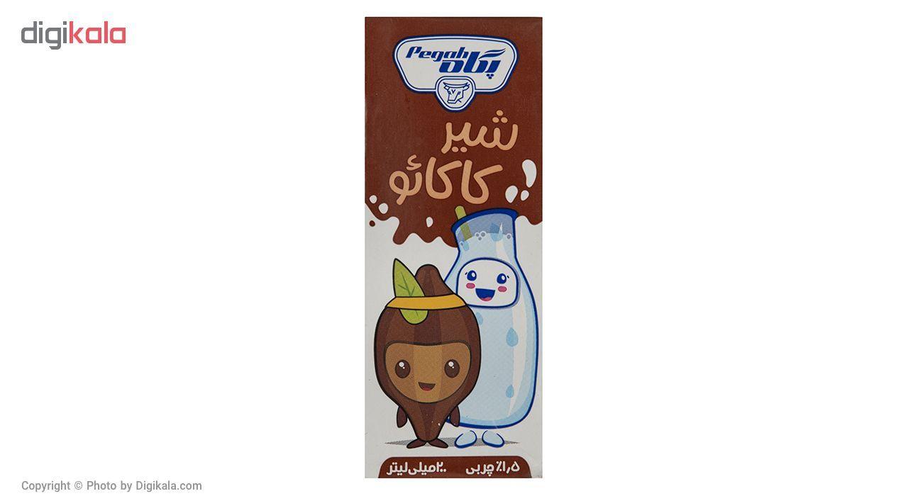 شیر کاکائو پگاه مقدار 0.2 لیتر main 1 1