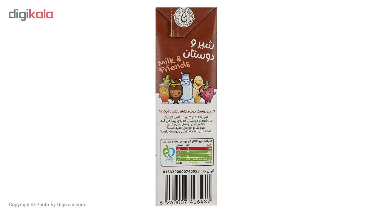 شیر کاکائو پگاه مقدار 0.2 لیتر main 1 2