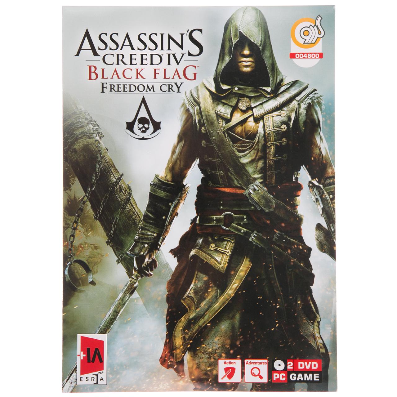 بازی Assassins Creed IV Black Flag مخصوص PC