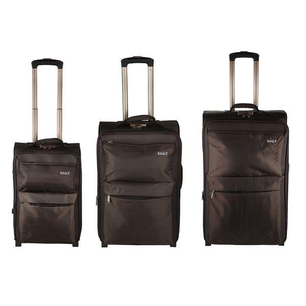 مجموعه سه عددی چمدان ایگل مدل 02