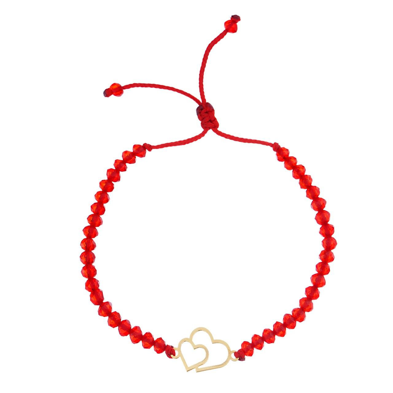قیمت دستبند طلا 18 عیار ماهک مدل MB0750 - مایا ماهک