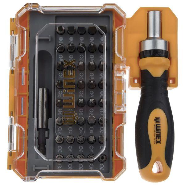 مجموعه 42 عددی پیچ گوشتی و سری پیچ گوشتی وینکس مدل EH2517