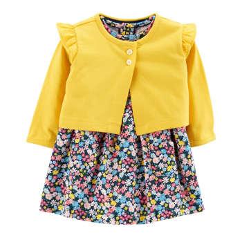 ست 2 تکه لباس نوزادی دخترانه کارترز مدل 820 |