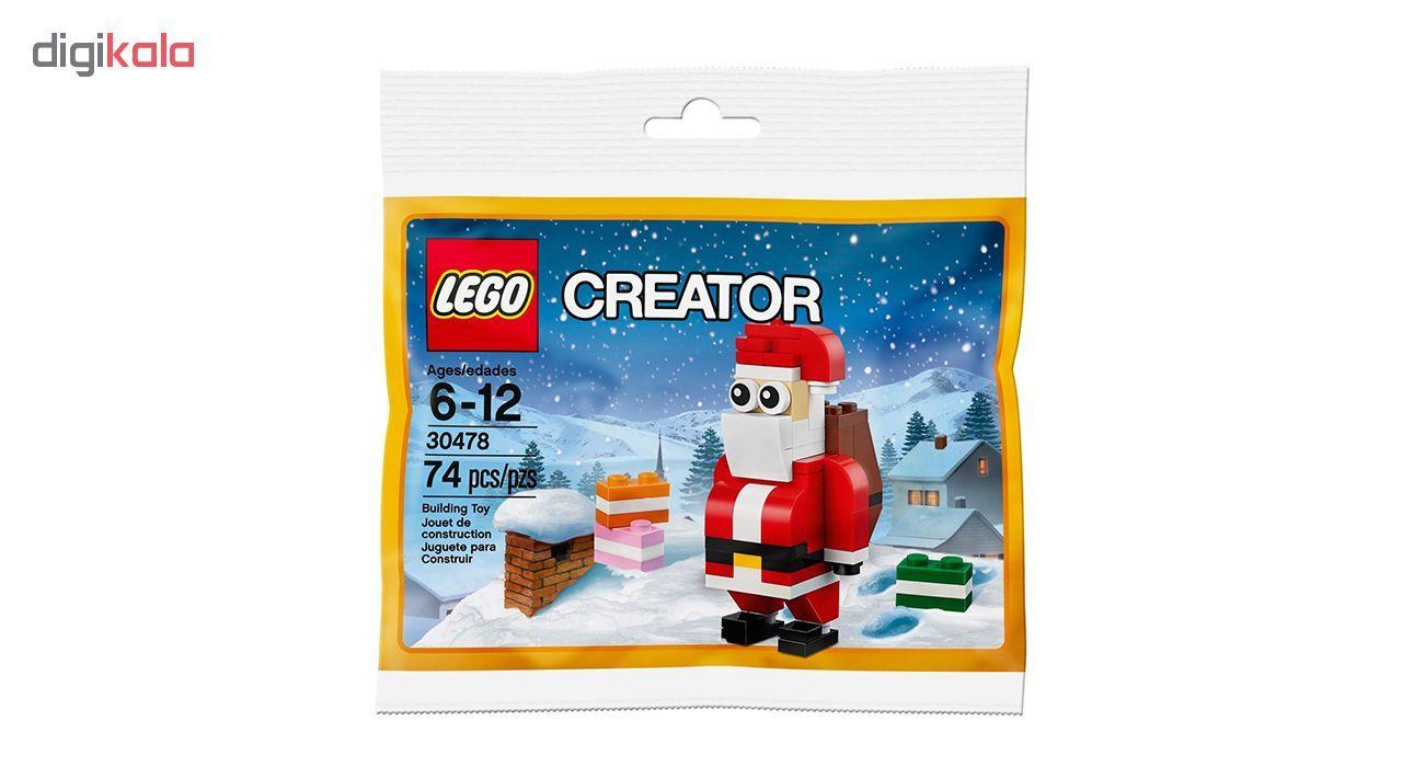 لگو سری Creator مدل Jolly Santa 30478