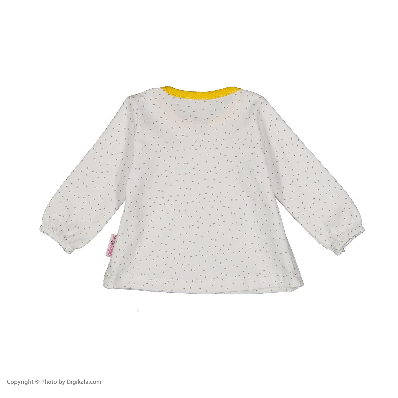 ست تی شرت و شلوار دخترانه آدمک مدل 2171146-19 main 1 5