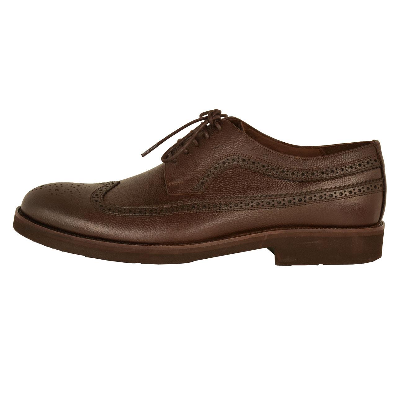 کفش مردانه کهن چرم مدل SHO110-7