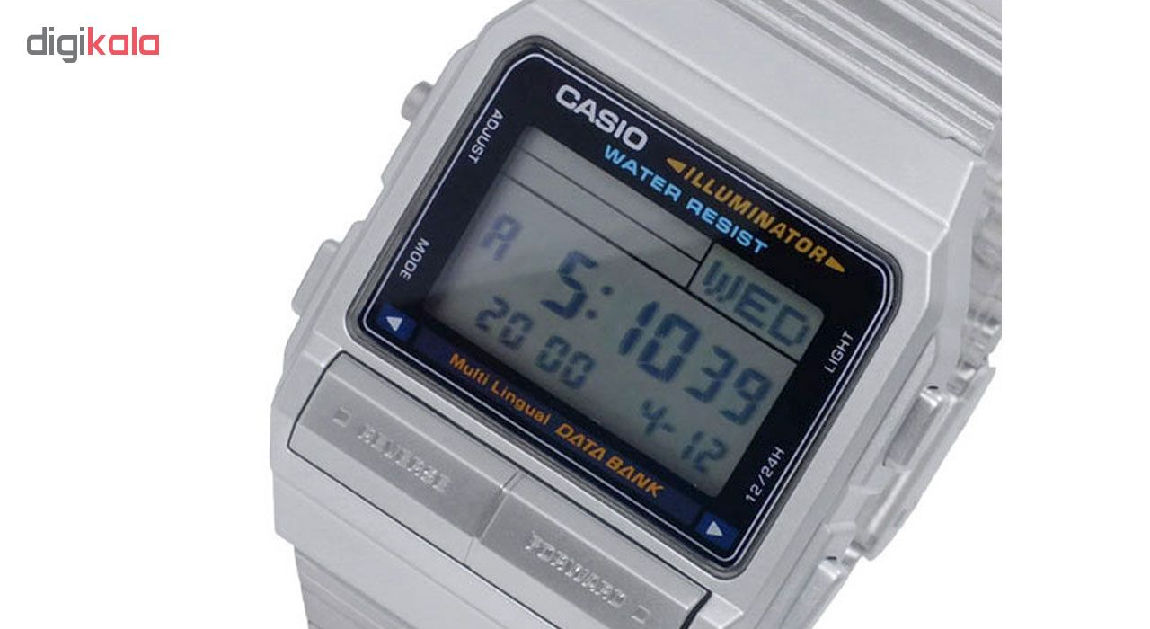 ساعت مچی دیجیتالی مردانه کاسیو مدل DB-380-1DF