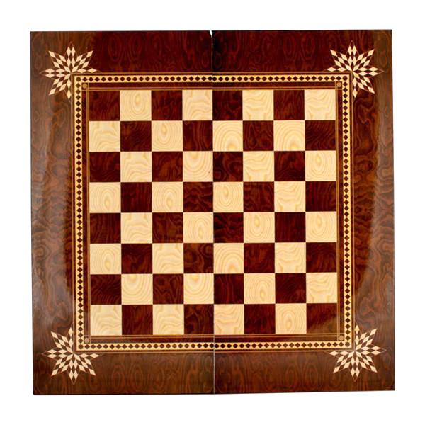 صفحه شطرنج خاتم کاری مدل دیبا