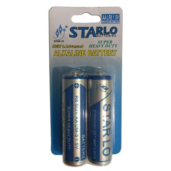 باتری قلمی استار لو مدل QRW بسته 2 عددی
