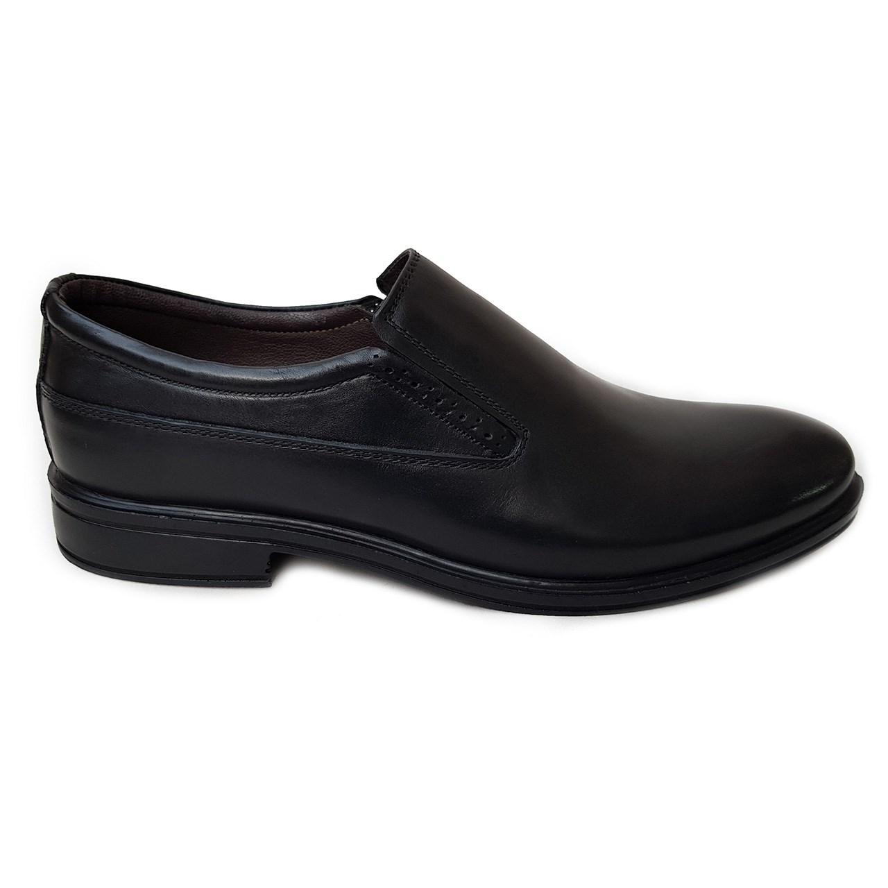 کفش مردانه چرم طبیعی دیاکو مدلMSL-KERAL-K-BLACK