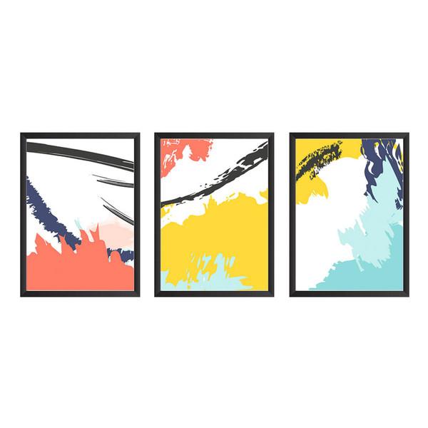 تابلو دیواری سه تکه وینا مدل Extreme