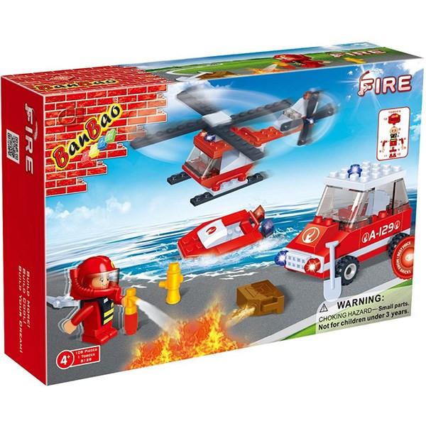 مدلسازی بن بائو مدل مجموعه آتش نشانی کد 8129