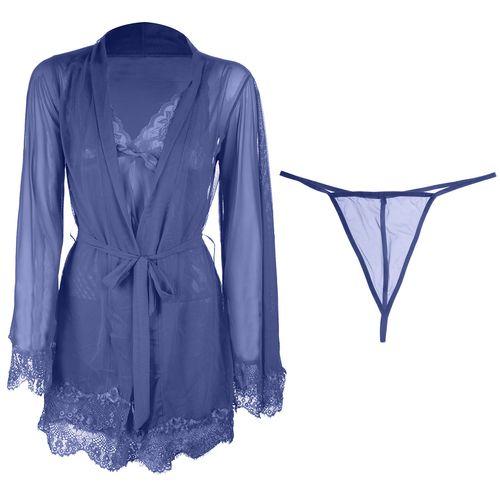 لباس خواب سه تکه زنانه مدل لیانا کد 7