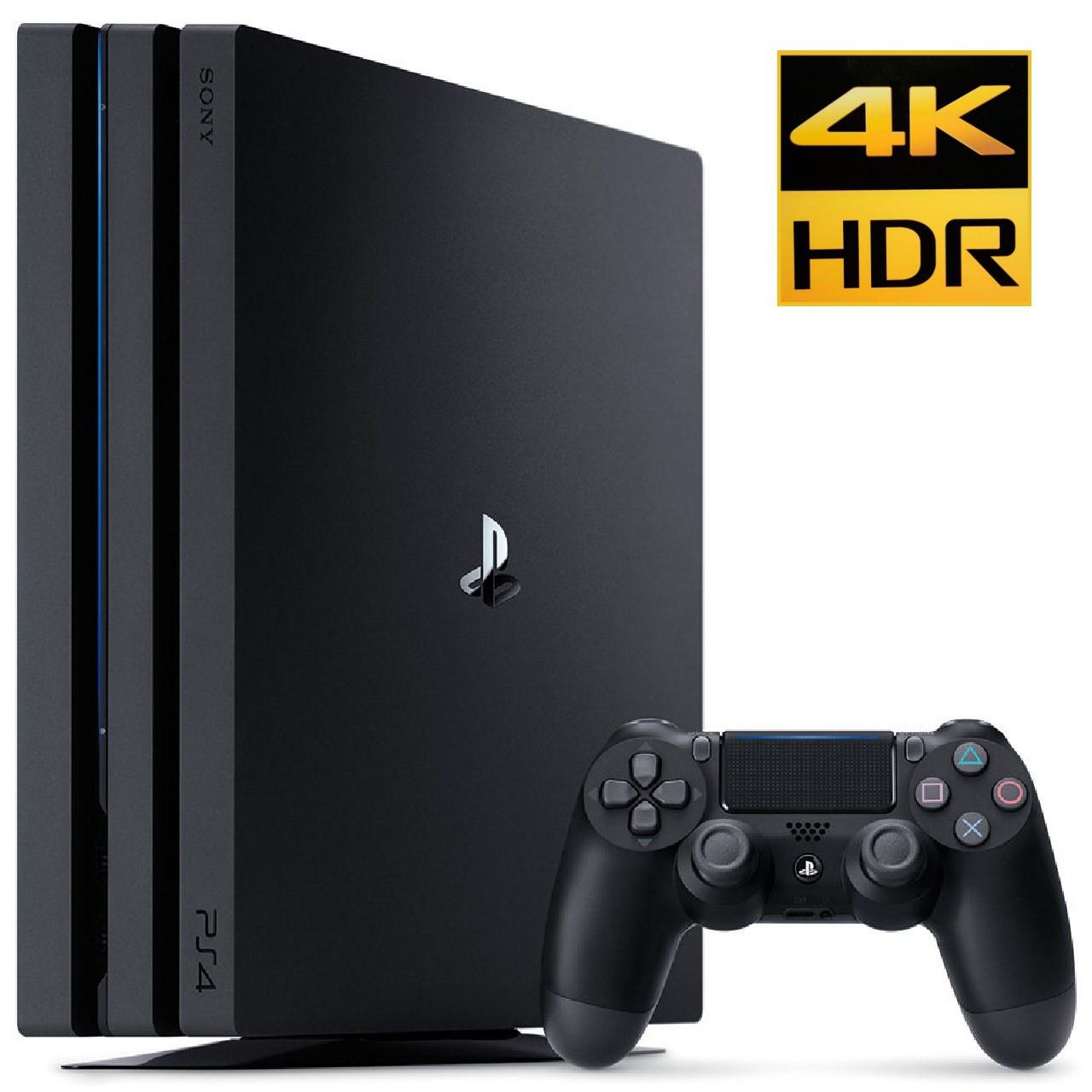 خرید                     کنسول بازی سونی مدل Playstation 4 Pro ریجن 2 کد CUH-7216B ظرفیت 1 ترابایت