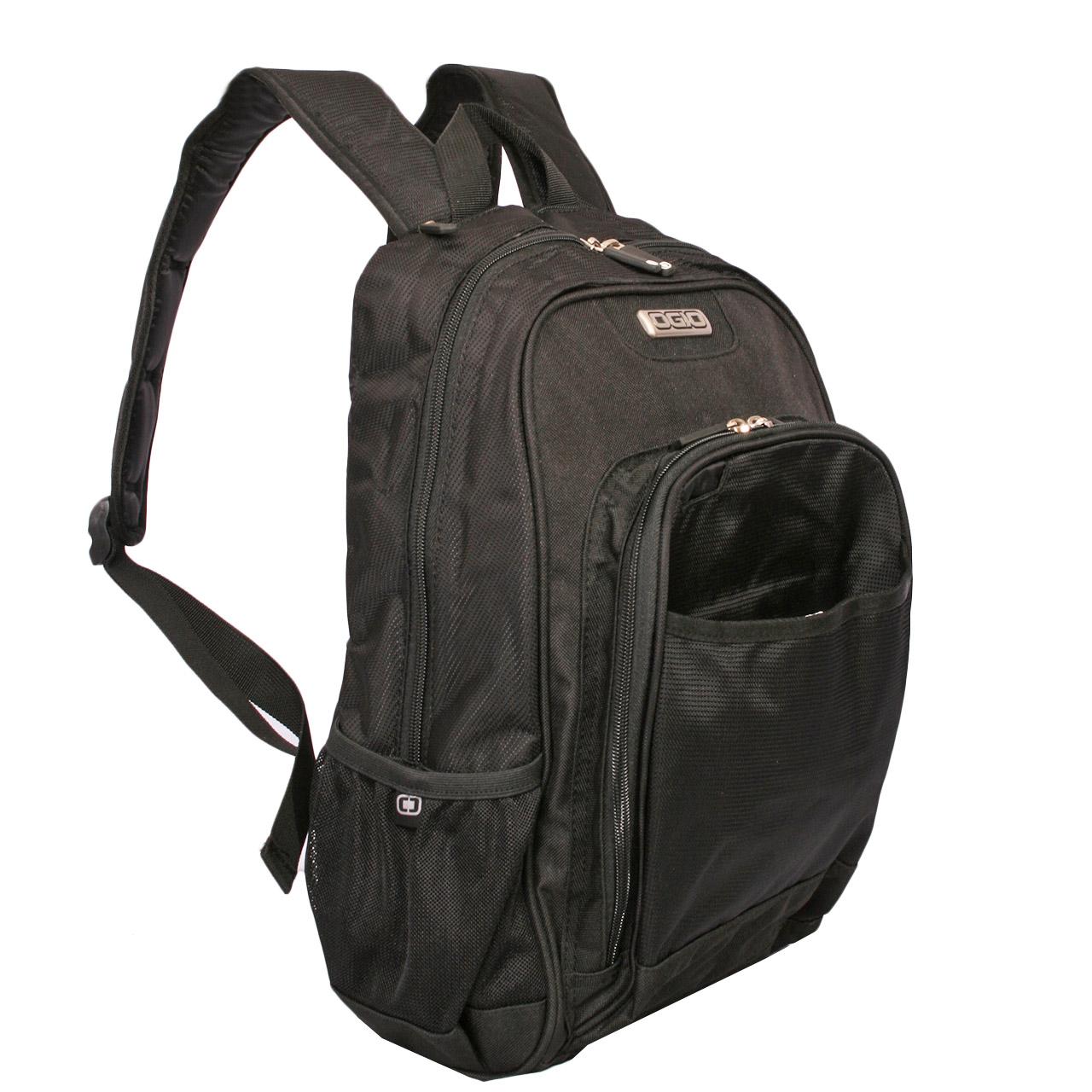 کوله پشتی لپ تاپ اوجیو مدل CHAMACO BLACK.03 مناسب برای لپ تاپ 15 اینچی