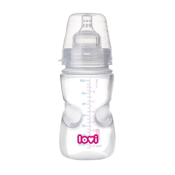 شیشه شیر کودک لاوی مدل 21562 ظرفیت 250 میلی لیتر