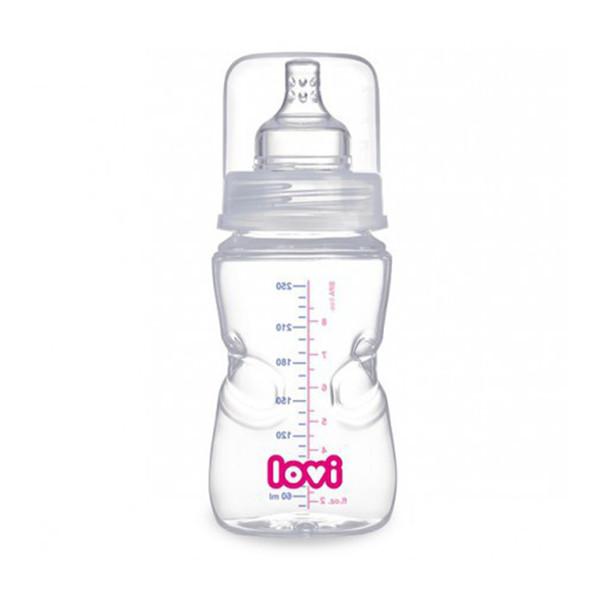 شیشه شیر کودک لاوی مدل 21570 ظرفیت 250 میلی لیتر