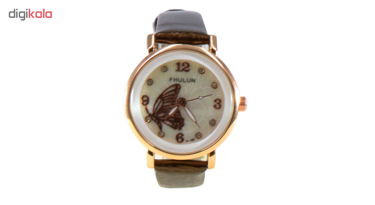 ساعت زنانه برند فولون مدل پروانه ای کد 01