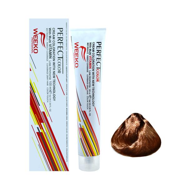 رنگ مو ویکو شماره 7.65 حجم 100 میلی لیتر رنگ بلوند شکلاتی تیره