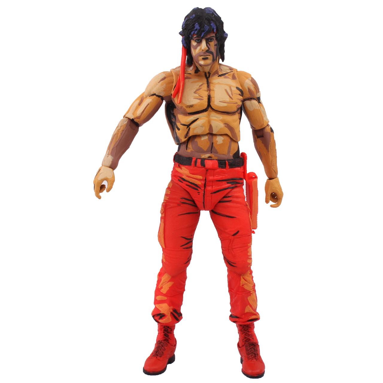 اکشن فیگور نکا مدل Rambo Sega Game Series