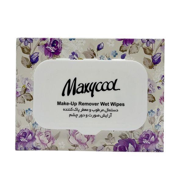 دستمال مرطوب ماکسی کول مدل Make-Up-3 بسته 40 عددی